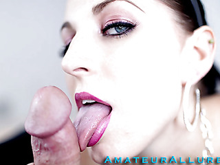 Racquel is a maid that breaks a vase and is in some serious trouble. that babe must suck and fuck her boss so his wife won't find out and fire her. This Honey gives him a very moist and ribald oral stimulation job stimulation and that babe deep throats his pecker like a pro. This Man bonks her tight shaved cunt as this babe moans wildly whilst her big milk shakes are bouncing.