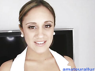 `Lynn is a 20 one year old nursing student from sunny Florida. This is her 1st `on camera` sex scene and this doll does a great job. Irrumation Sex that is... That Honey drops down and starts engulfing my rod and then presents her fur pie for a precious hard fu`