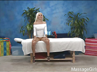 Sexy 18 year old gal acquires drilled hard by her massage therapist!