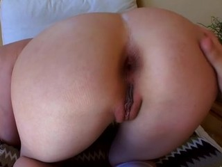 The cutie could get powerful orgasms solely from anal destruction