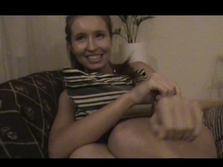 Nasty legal age teenager lady acquiesces to endure sex by the table with fun