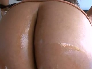 Cute sweetheart stands in different positions getting booty team-fucked