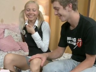 Fascinating teen tastes an experienced older rod